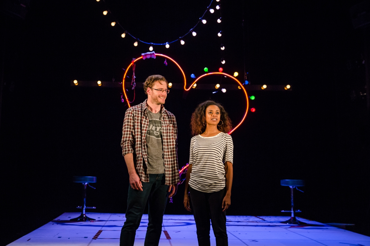 Dirty Great Love Story, Arts Theatre - Felix Scott and Ayesha Antoine, Courtesy of Richard Davenport for The Other Richard_4.JPG