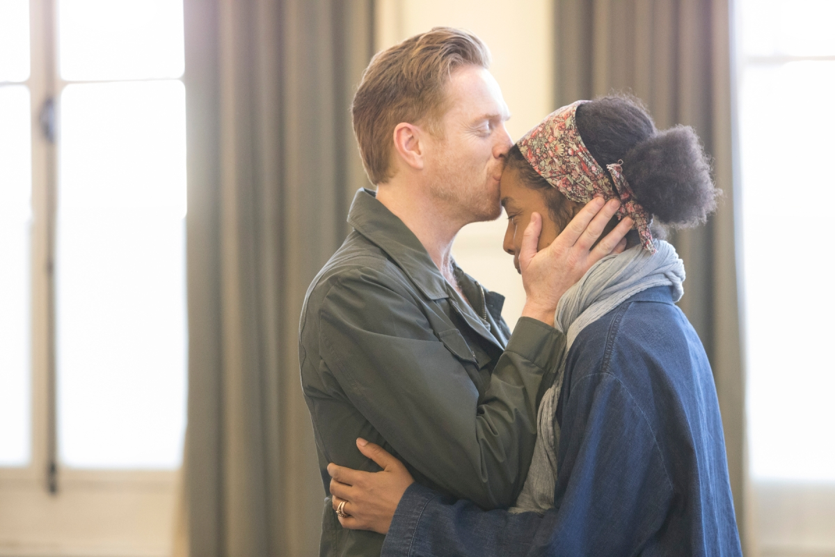 Edward Albee's The Goat, Or Who Is Sylvia - Damian Lewis (Martin), Sophie Okonedo (Stevie) Credit Johan Persson 02224.jpg