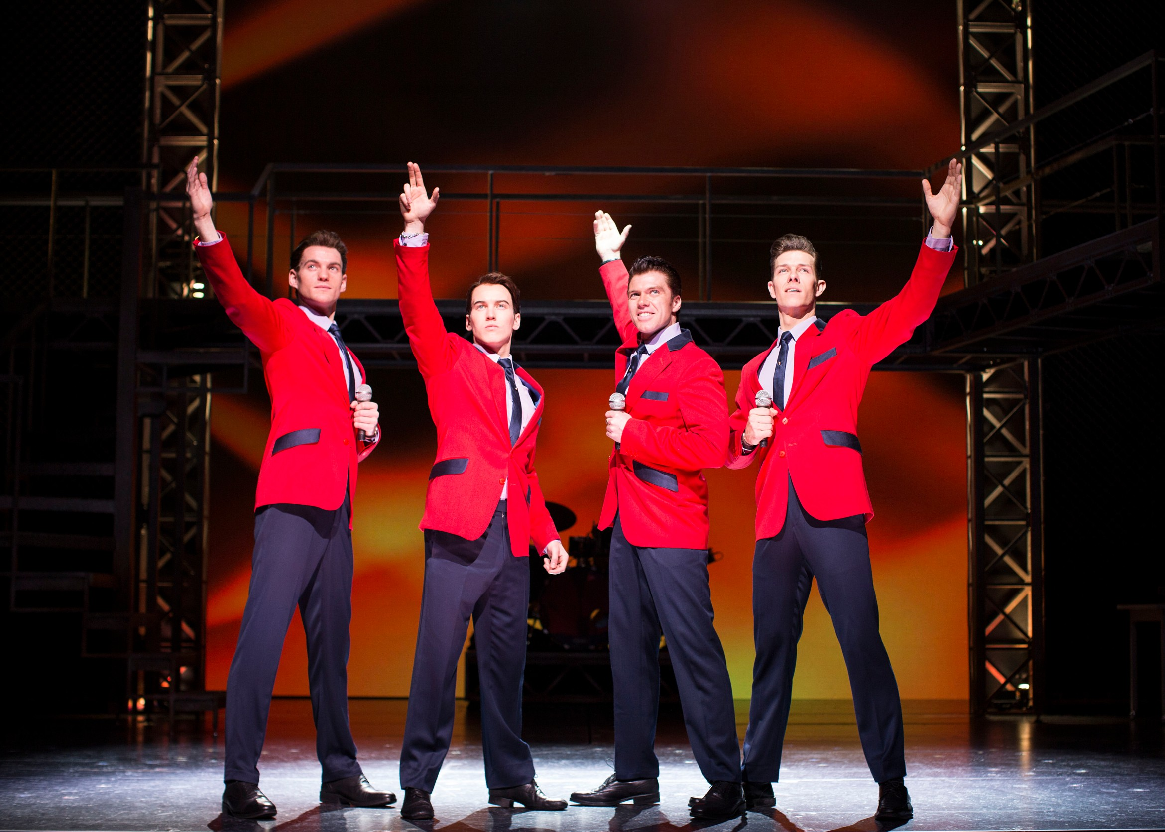 (L-R)  Sam Ferriday%2c Matt Corner%2c Stephen Webb and Lewis Griffiths in JERSEY BOYS UK and Ireland tour 2015 credit Helen Maybanks.jpg