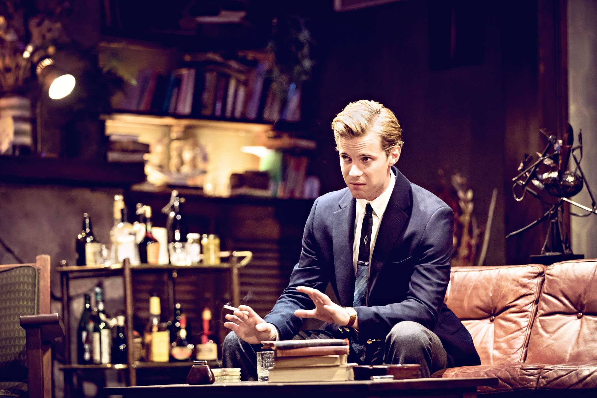 Luke Treadaway in Edward Albee's Who's Afraid of Virginia Woolf- Credit Johan Persson.jpg.jpg