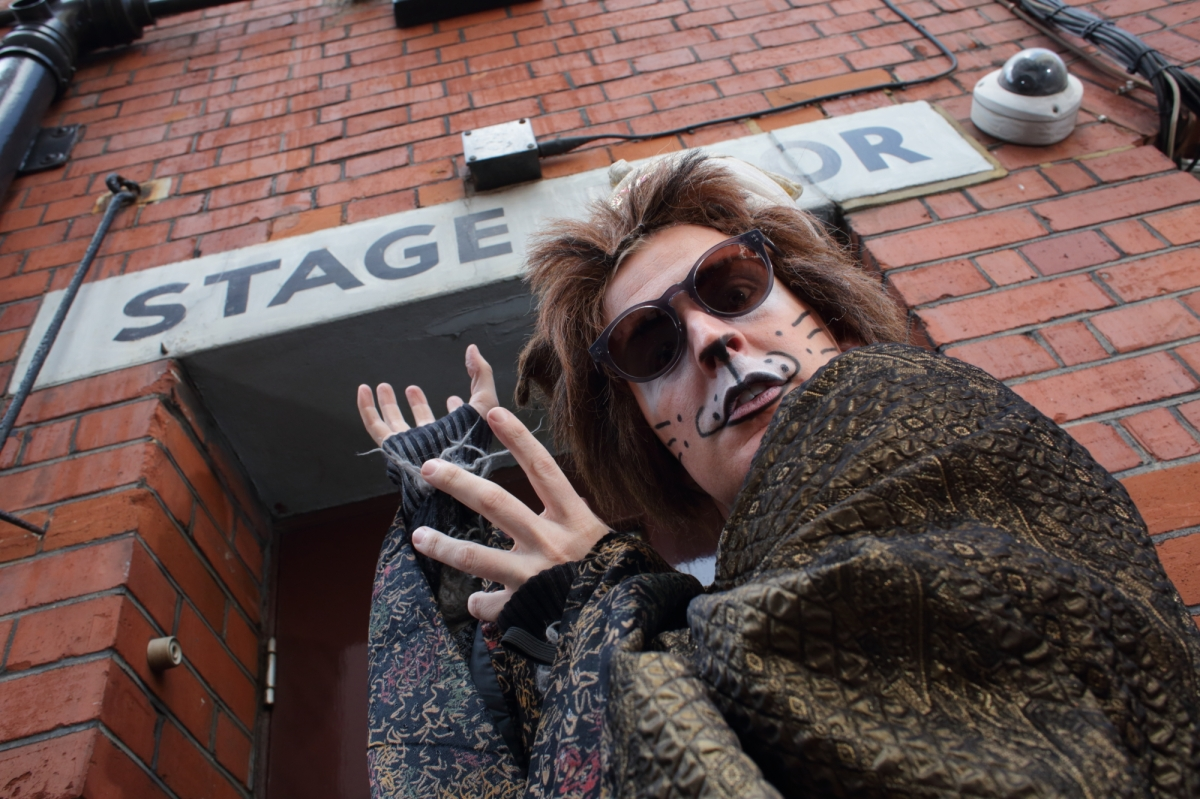 Gerard McCarthy channelling Sunset Boulevard in CAT – (THE PLAY!!!). Photo by Bobbin Photography.JPG