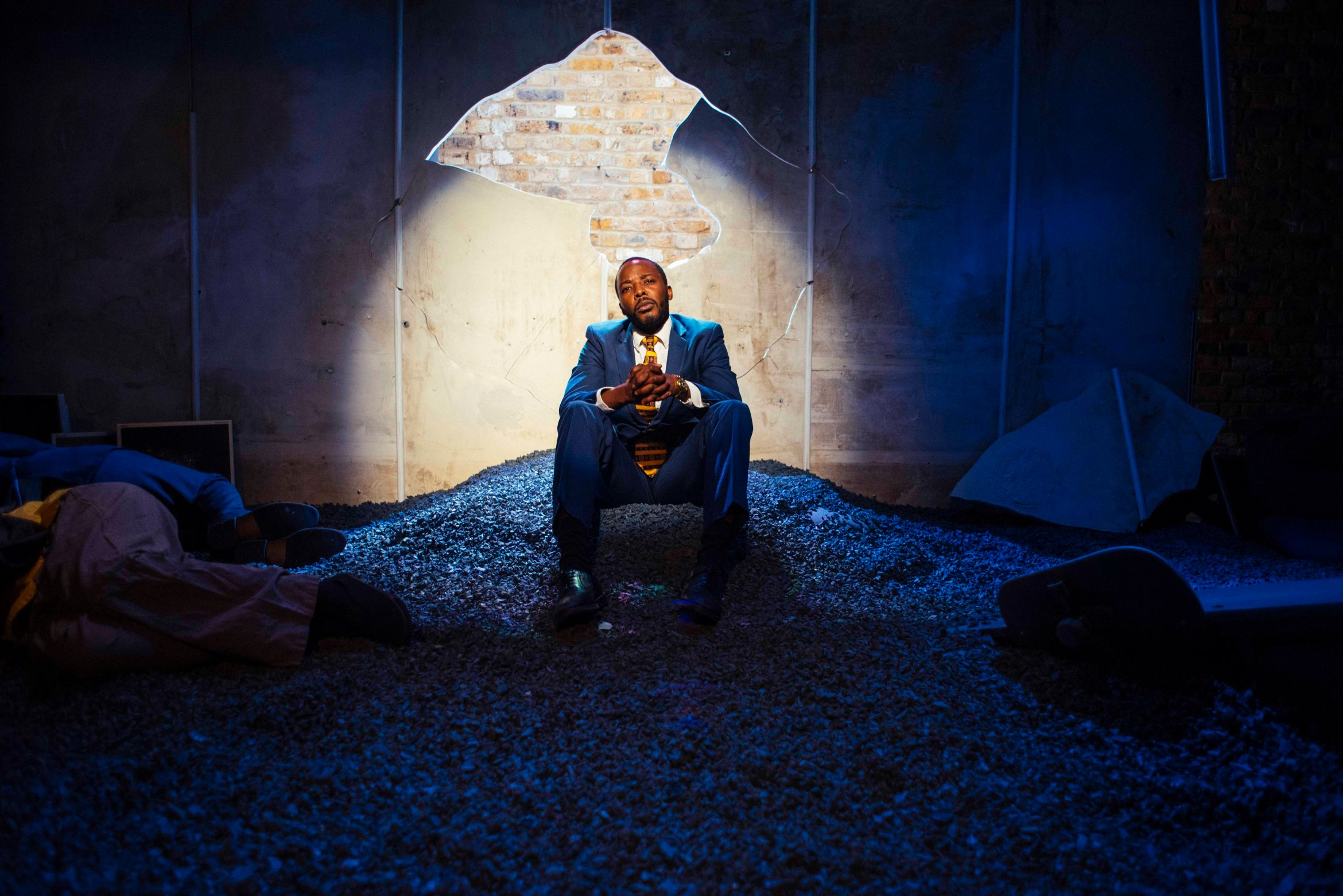 The Pulverised - Arcola Theatre - Solomon Israel - Photos by Dashti Jahfar 2