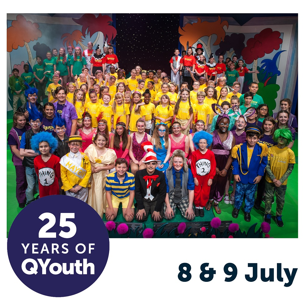 25 years of QYouth - Queens Theatre Hornchurch