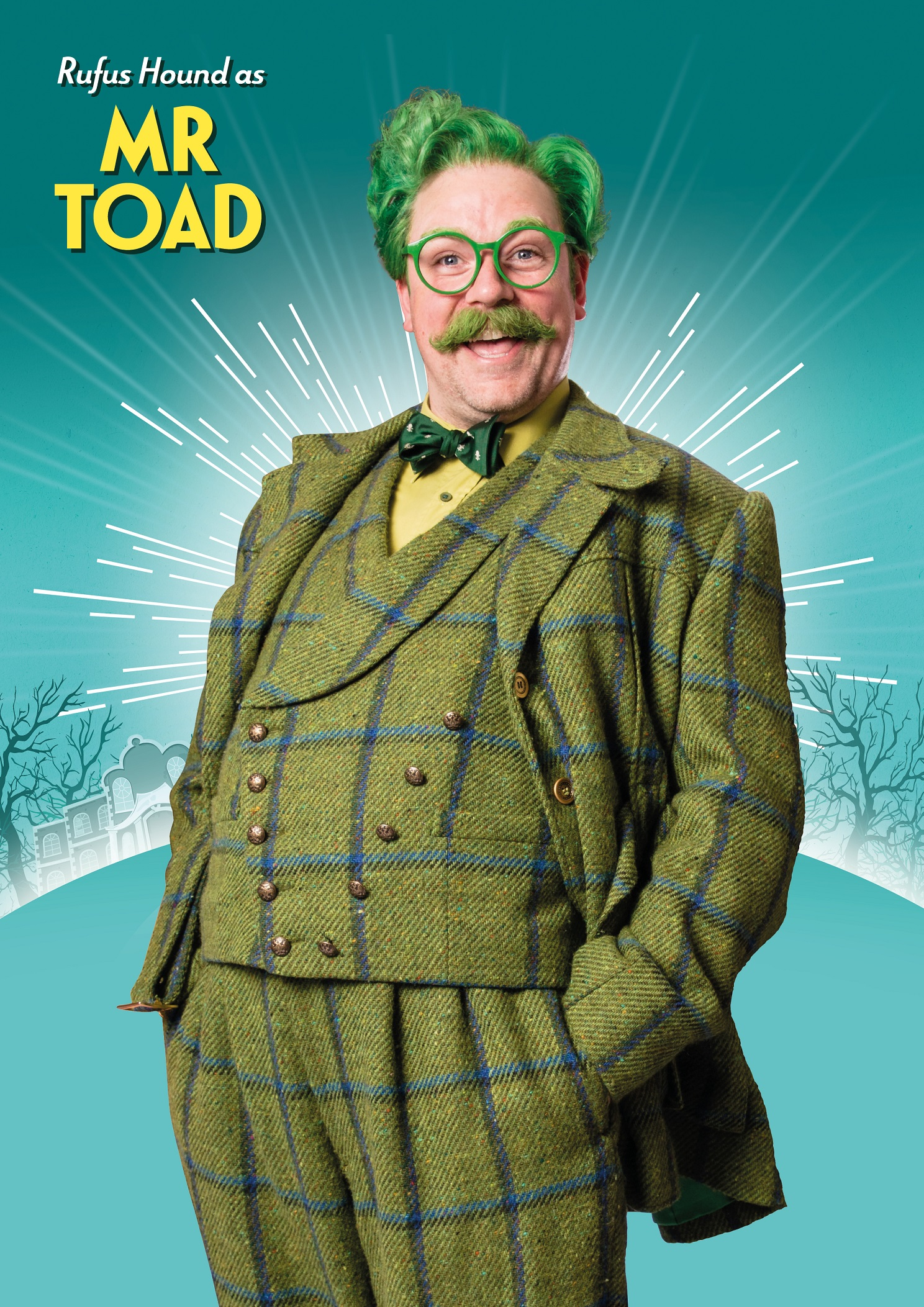 Rufus Hound as Mr Toad in The Wind in the Willows Credit Darren Bell