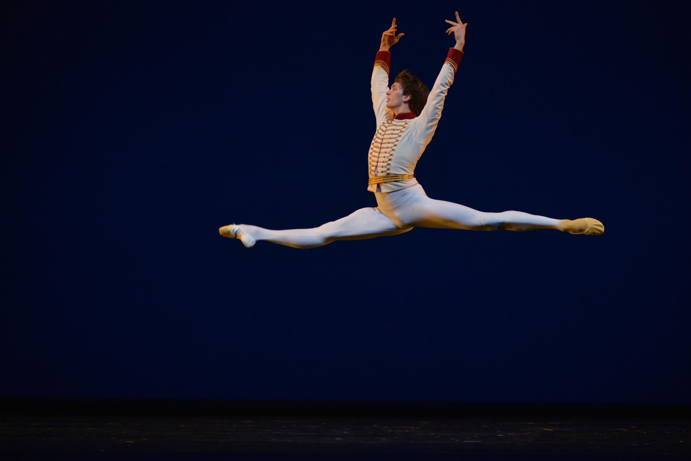 Bolshoi dancer Artemiy Belyakov in Celebration courtesy Igor Zakharkin