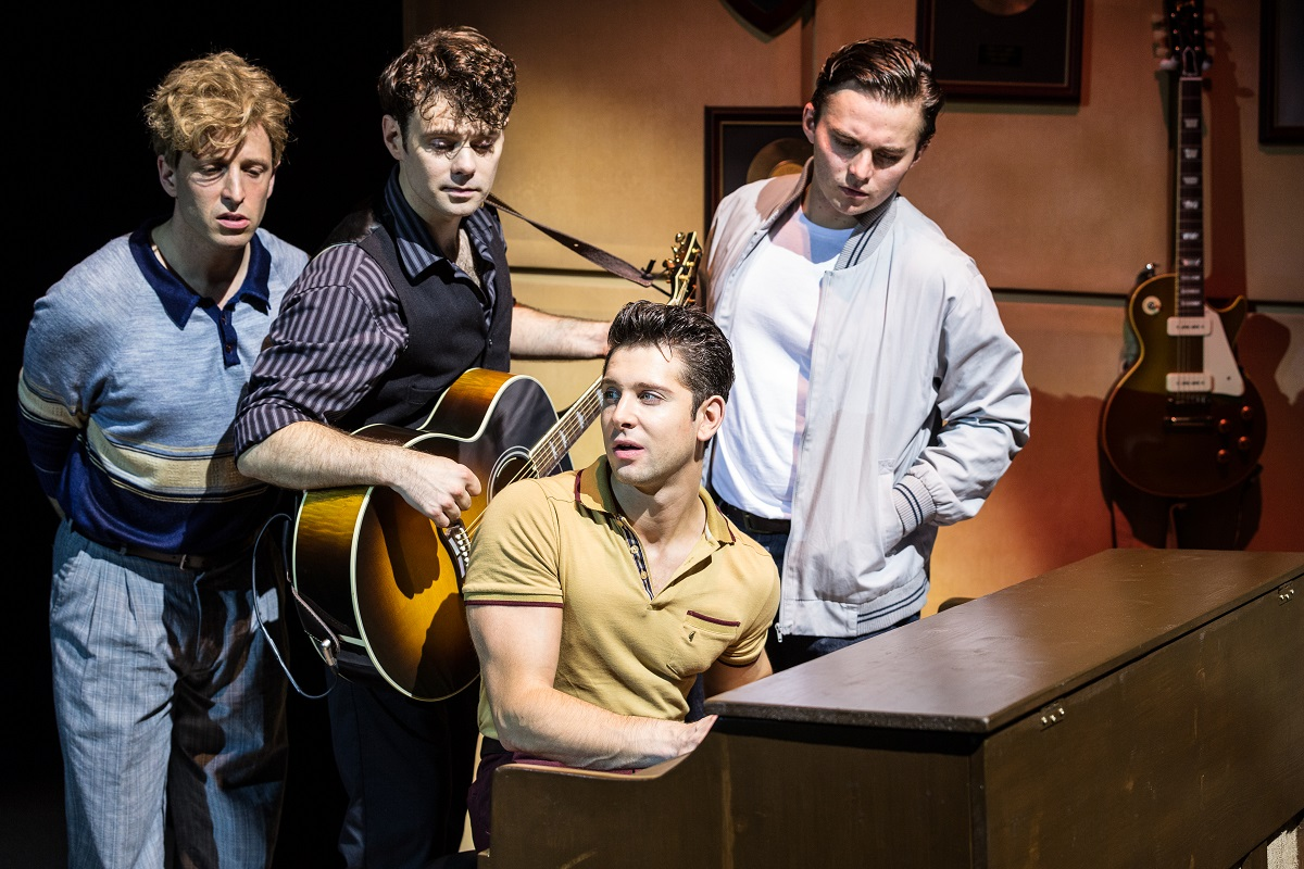 Million Dollar Quartet - 4 rocknroll icons - Queens Theatre Hornchurch (small)