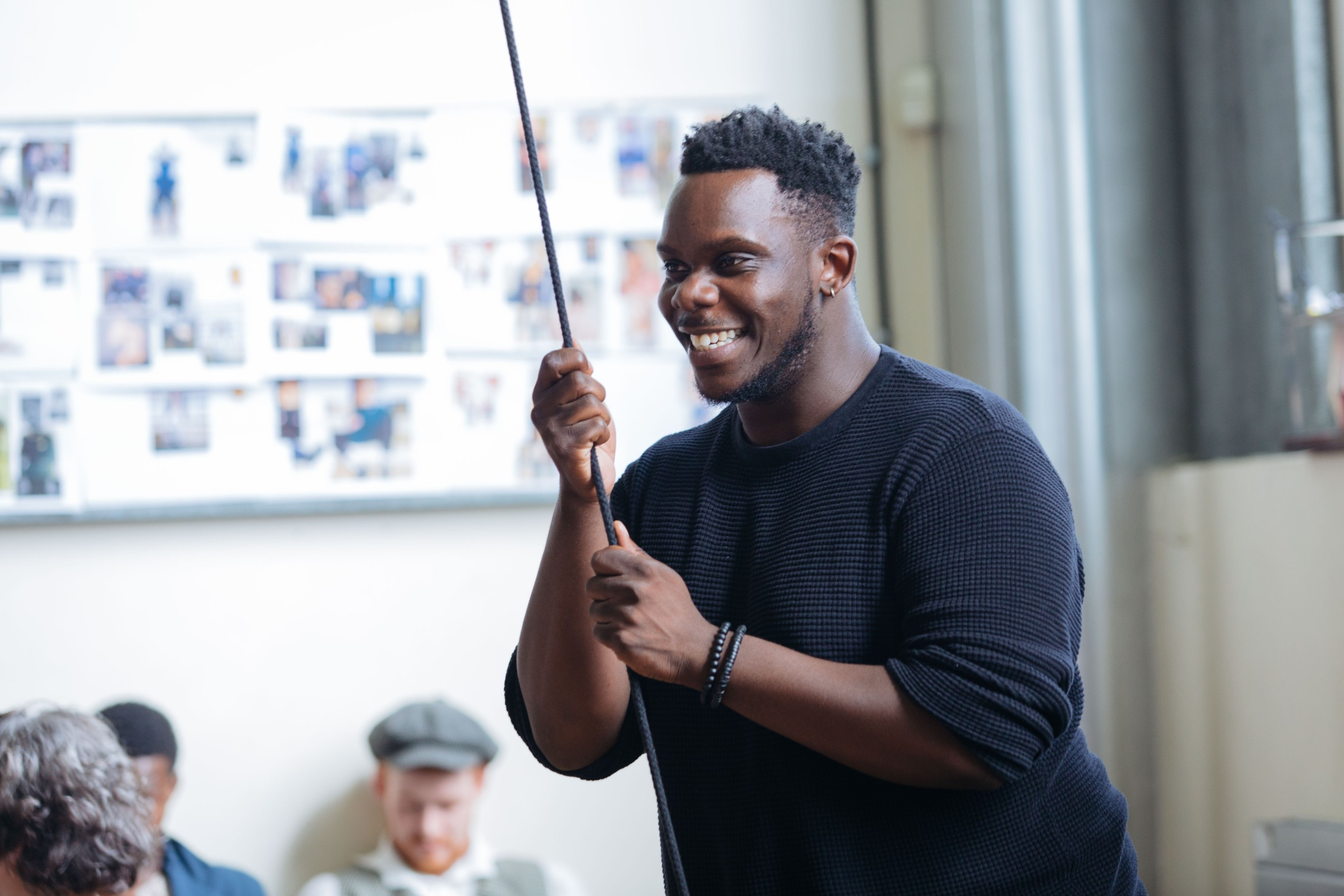 Roy Alexander Weise in rehearsal for Jekyll and Hyde. Credit Helen Murray.jpg