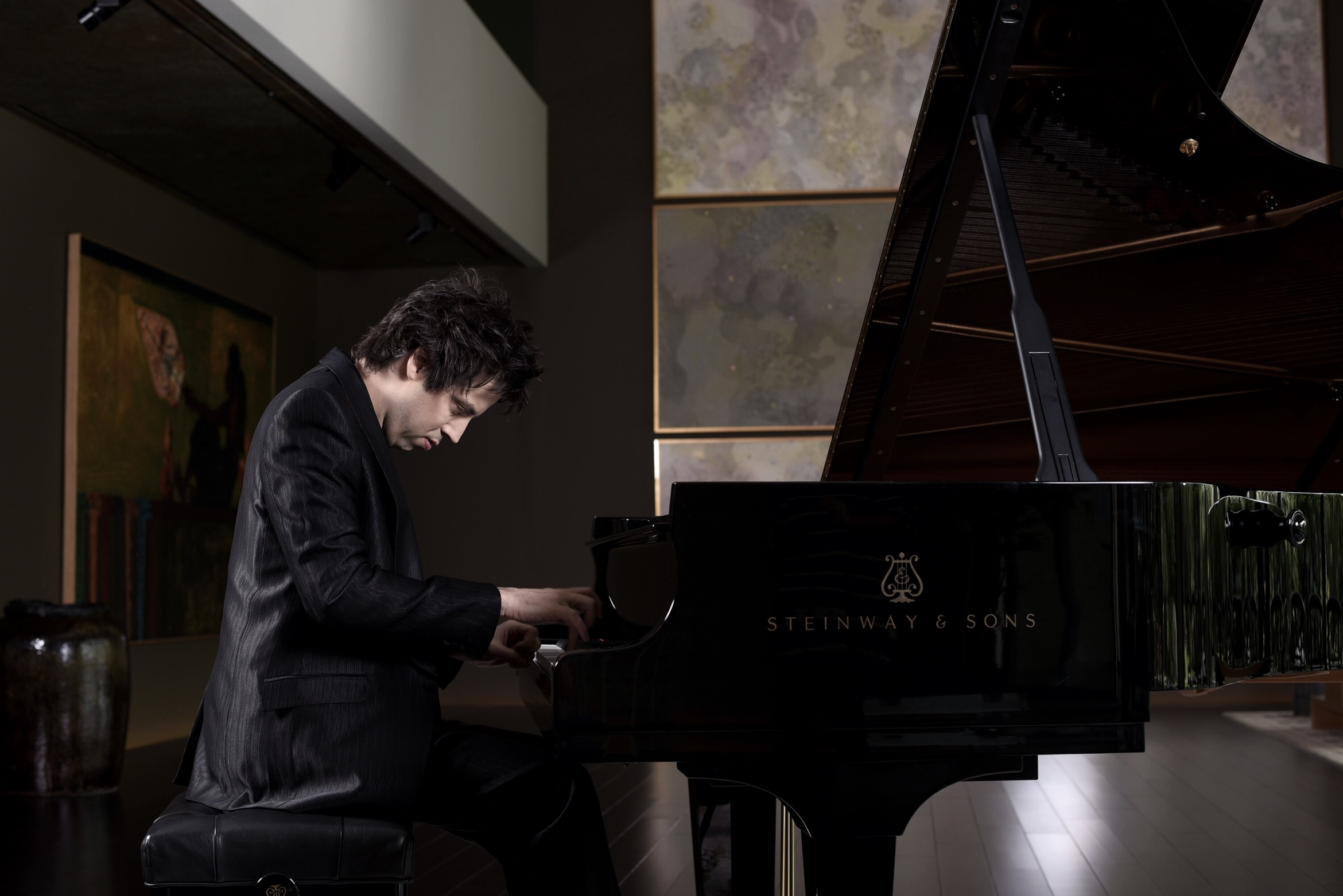 Dominic Ferris with Steinway