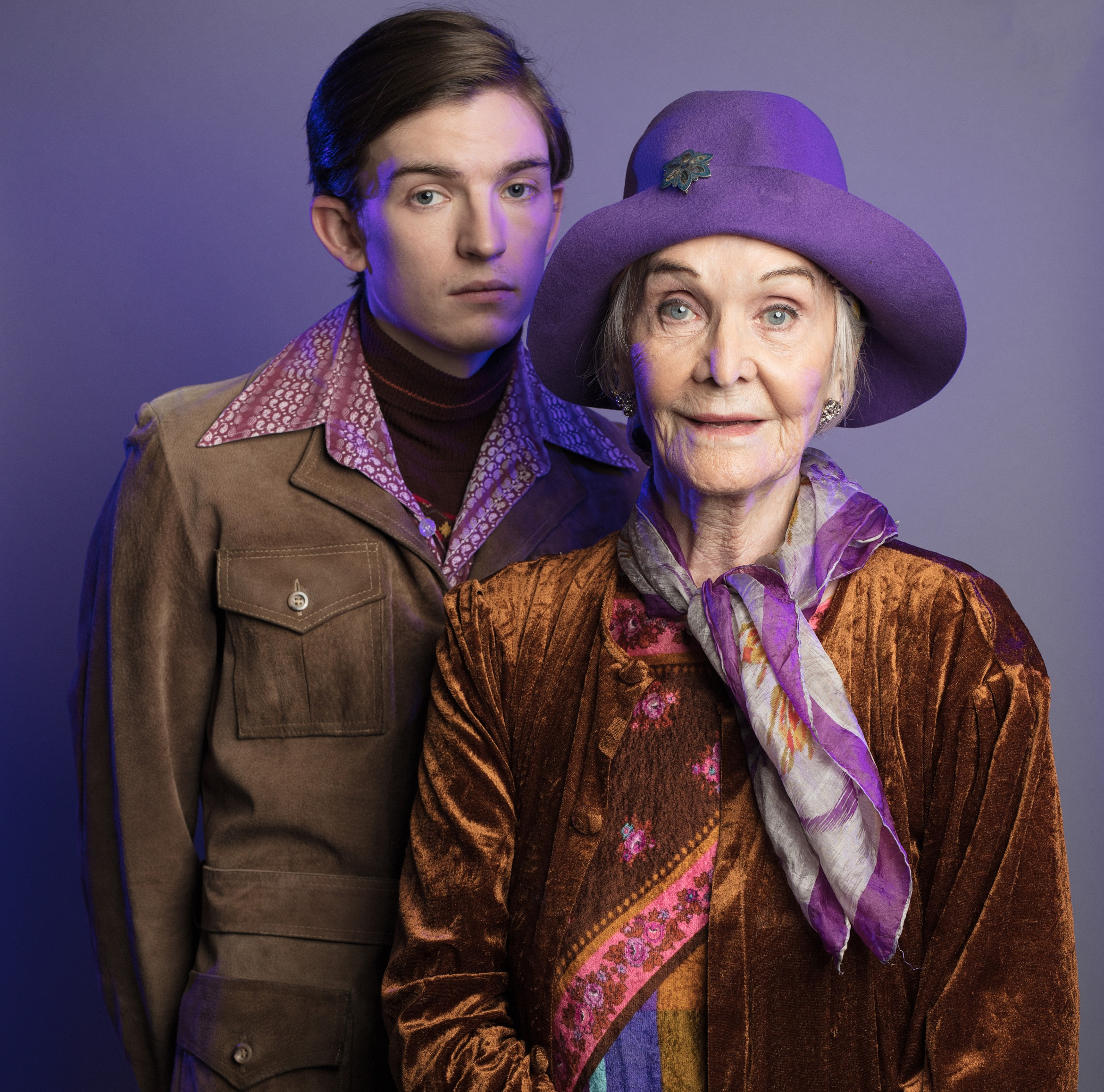 Harold and Maude - Bill Milner and Sheila Hancock PHOTO by Darren Bell.jpg