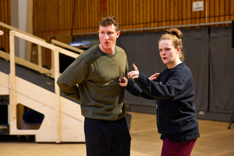 MacbethRoyal National Theatre London Rehearsal