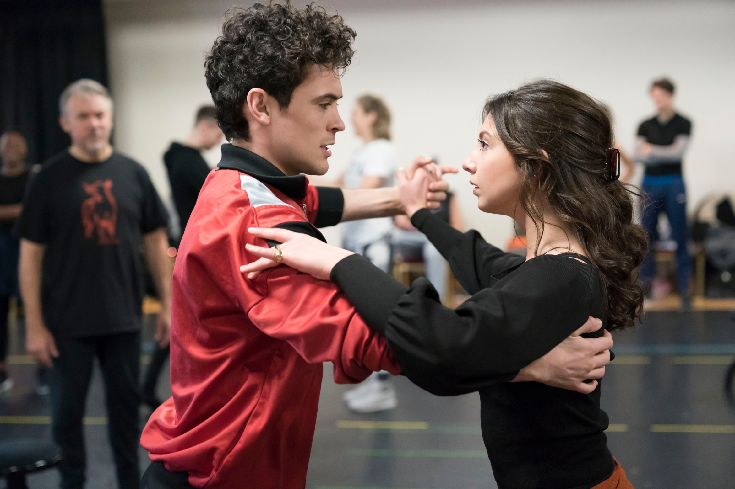 Jonny Labey & Zizi Strallen in rehearsals for Strictly Ballroom The Musical. Photo by Johan Persson_00207.jpg