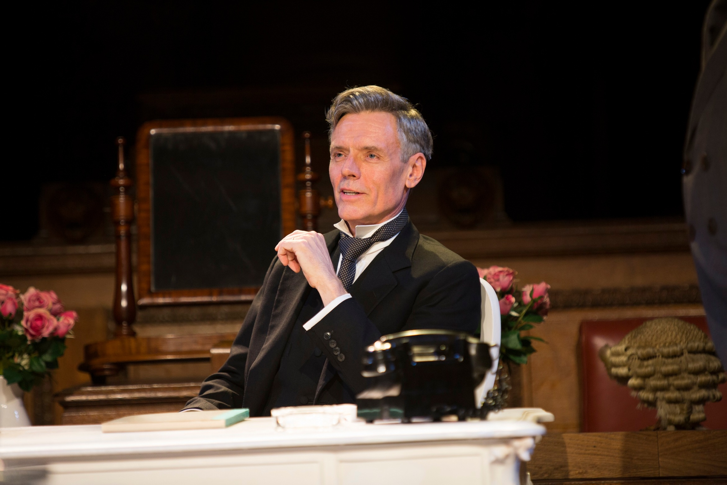 13 Richard Clothier as Sir Wilfrid Robarts in Witness for the Prosecution Credit Ellie Kurttz
