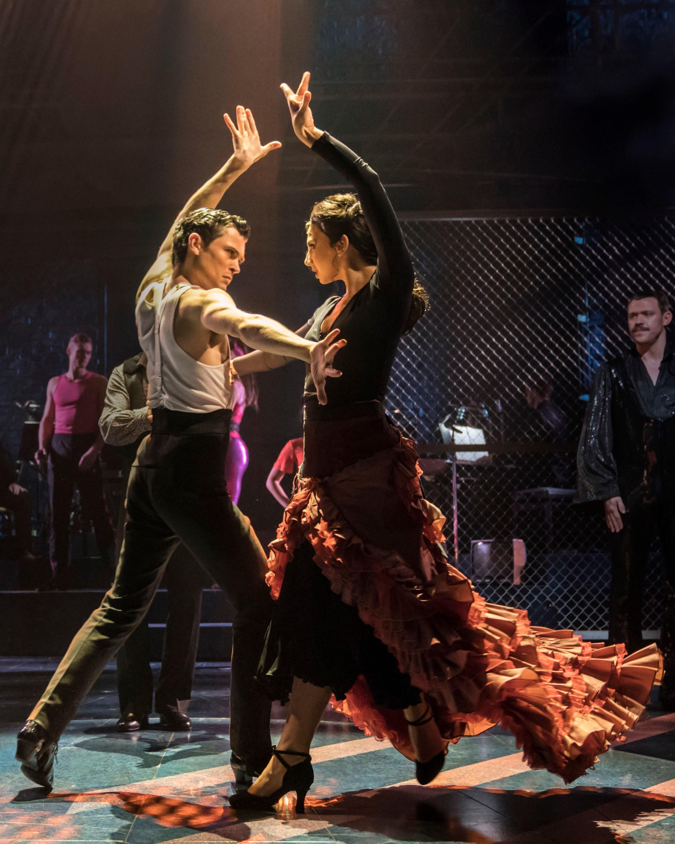 Strictly Ballroom London - Scott & Fran Paso Doble (Jonny Labey & Zizi Strallen) - photo by Johan Persson.jpg