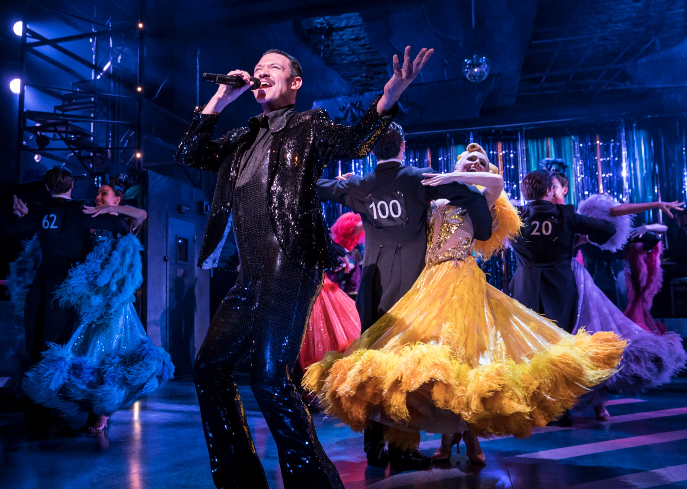 Strictly Ballroom London - Wally (Will Young) - photo by Johan Persson.jpg